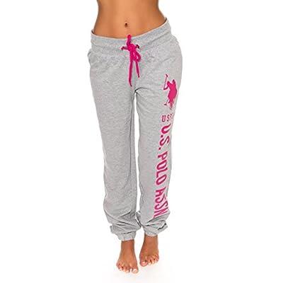 U.S. Polo Assn. Essentials Womens French Terry Jogger Lounge Sleep Sweatpants Pajamas: Clothing