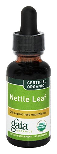 Nettle Leaf Organic Extract Gaia Herbs 1 oz Liquid