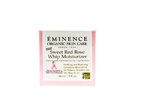 Eminence Organic Skincare Sweet Red Rose Whip Moisturizer, 2 Ounce