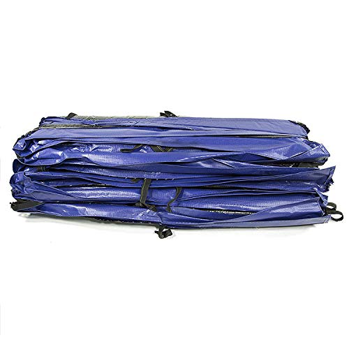 Skywalkers Trampolines Safety Pad 9x15 ft Replacement Parts Accesories. 9'x15' Rectangle Spring Blue Vinyl-Coated for Trampoline. Ultra High UV Protection. Compatibility STRC915 by Skywalkers Trampolines (Image #2)