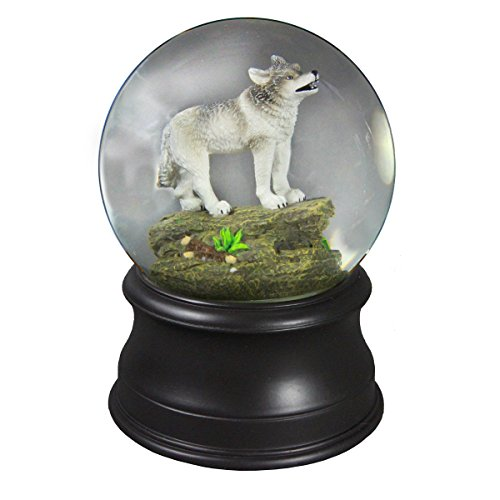 - Wolf Water Globe Collectible from The San Francisco Music Box Company