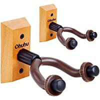 Guitar Wall Mount Hanger 2-Pack, Ohuhu Guitar Hanger Wall...