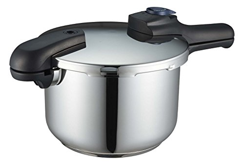 Pearl Quick Eco bottom layer 3 switching formula pressure cooker 5.5L H-5042 by Parukinzoku (PEARL METAL)