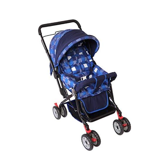 Natraj Babylove Stroller (Nevy Blue)