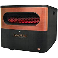 EdenPURE A5095 Gen2 Pure Infrared Heater, Black
