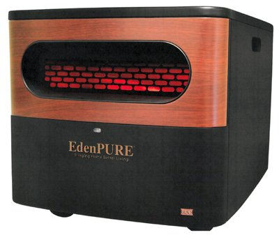 EdenPURE A5095 Gen2 Pure Infrared Heater, Black Review