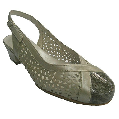 De Talon Métallique Fermées Chaussures En Ouverte Roldan Grille t6Oq8