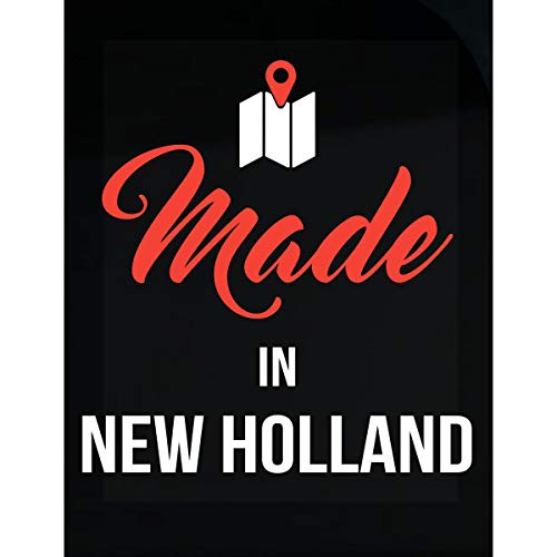 - Made in New Holland City Funny Gift - Sticker