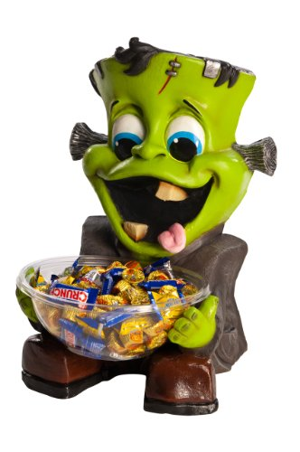 Rubie's Halloween Candy Bowl Holder, Frankenstein