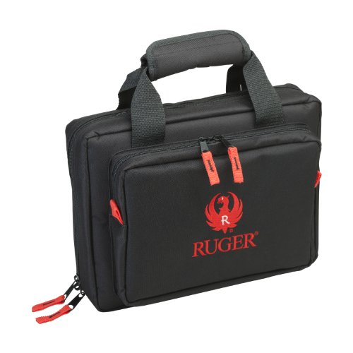Allen Company Ruger Duoplex Attache Case, Black, 9x11.5-Inch