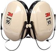 3M Peltor Optime H6B/V Black/Tan Behind Neck Foam Protective Earmuffs - 21 dB NRR - XH001651211 [PRICE is per