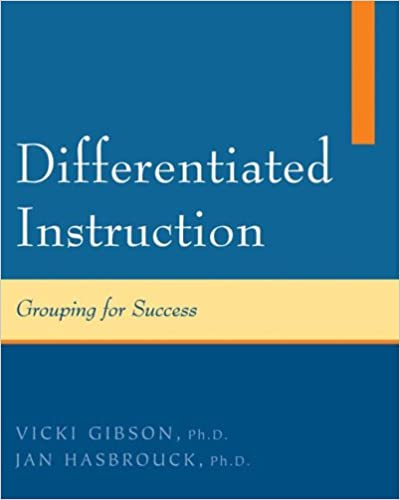 Amazon Differentiated Instruction 9780073378497 Vicki Gibson