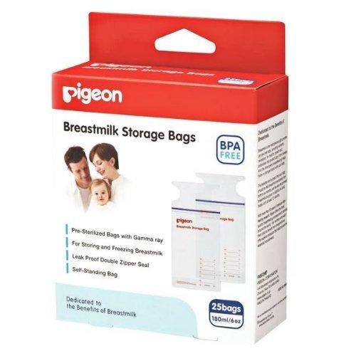 NEW Pigeon Breastmilk Storage Bags BPA Free 25 Bags -pack 2