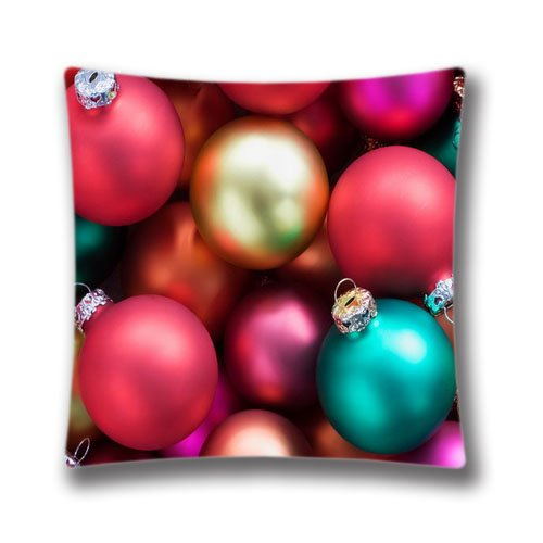 Wallpaper Happy Daychristmas Throw Pillow Case Cushion Cover Home/Office Decorative Pillowcases,16x16inch (Sham Meaning Bedding)