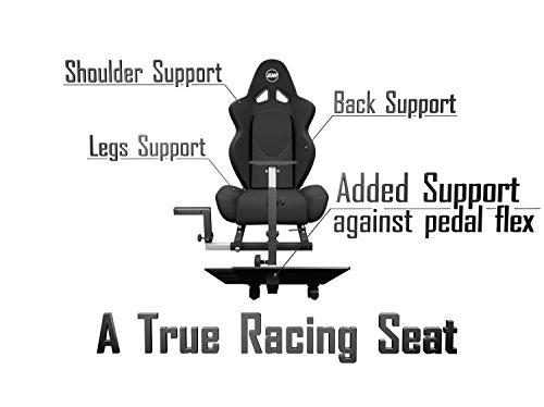 e27f67dacf9 Openwheeler GEN2 Racing Wheel Stand Cockpit Black on Black   Fits All  Logitech G29   G920