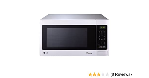 Amazon.com: LG LCRT1513SW Countertop Microwave Oven, 1100-watt, White: Kitchen & Dining