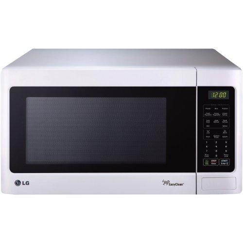 LG LCRT1513SW Countertop Microwave Oven, 1100-watt, White