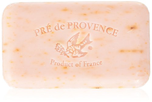 Pre de Provence Artisanal French Soap Bar Enriched with Shea Butter, Quad-Milled For A Smooth & Rich Lather (150 grams) - Rose Petal