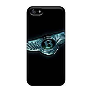 New Bentley Logo Tpu Case Cover, Anti-scratch E-Lineage Phone Case For Iphone 5/5s