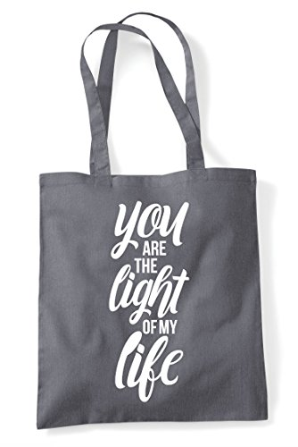 Shopper Of Are Dark Tote My Statement Life You Grey The Light Bag aAxwnwTzqv
