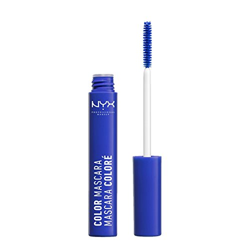 NYX Professional Makeup Color Mascara, Blue, 0.32 Ounce