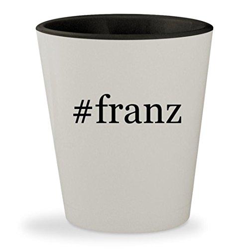 #franz - Hashtag White Outer & Black Inner Ceramic 1.5oz Shot - Franz Mykita