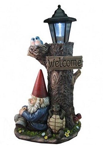 Cheap Nappy Station Lantern Light | Gnome and Turtle Tree Lantern for Patio