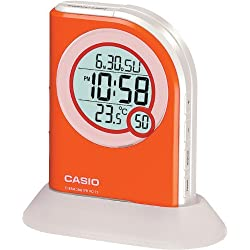 Casio Pq75-4df Multi Function Digital Thermometer Table Top Alarm Clock