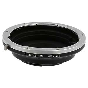Fotodiox Profesional anillo adaptador para Mamiya 645, M645 Lente para Cámara Nikon
