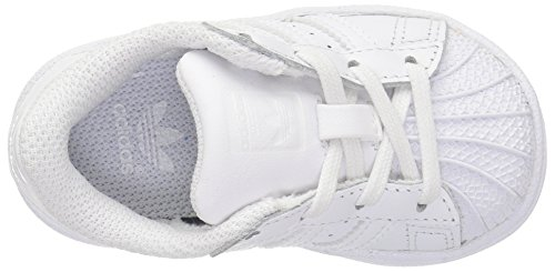 adidas Originals Superstar, Chaussons Sneaker Mixte enfant White/White/White
