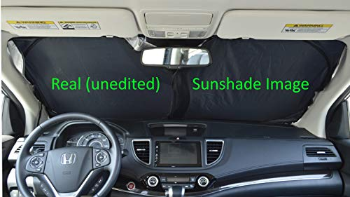 A1 Shades Windshield Sun Shade Exact Fit Size Chart for Cars Suv Trucks Minivans Sunshades Keeps Your Vehicle Cool Heat Shield
