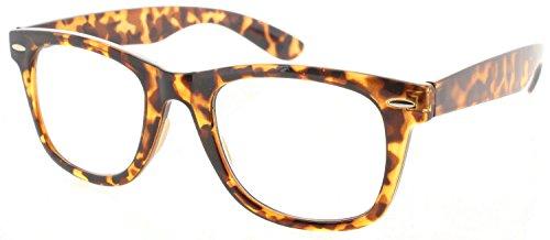 Fiore Multi Focus Progressive Reading Glasses 3 Powers in 1 [Trendy - Tortoise, ()