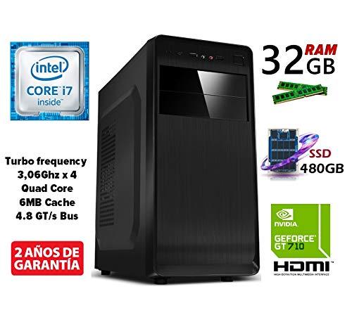 Ordenador SOBREMESA Intel Core i7 Quad Core up to 3,06Ghz | 32GB ...