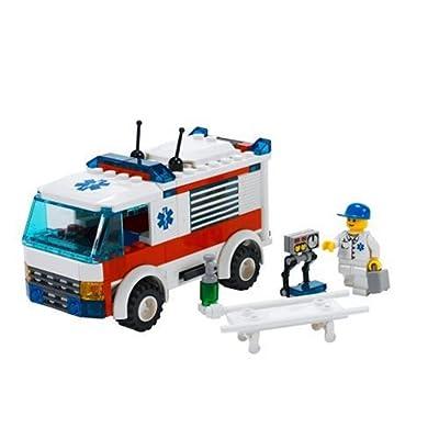 LEGO City Emergency Ambulance (7890): Toys & Games