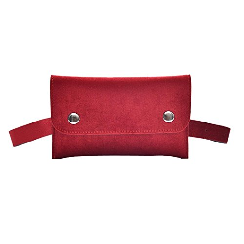 Bag Chest Women Shoulder Red Bag Waist Bag Messenger Bag Leather Mini Winkey A5TdwA