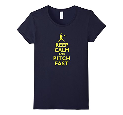 Keep Calm Pitch Softball T shirt product image