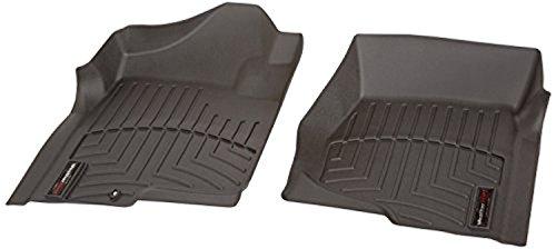 WeatherTech 440661 Custom Fit Front FloorLiners (Black) by WeatherTech