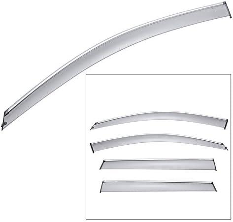 WellVisors Window Visors 14-20 Chevy Impala Sedan Side Deflectors Deflectors