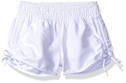 O'Neill Big Girls' Splash Boardshort, White, M