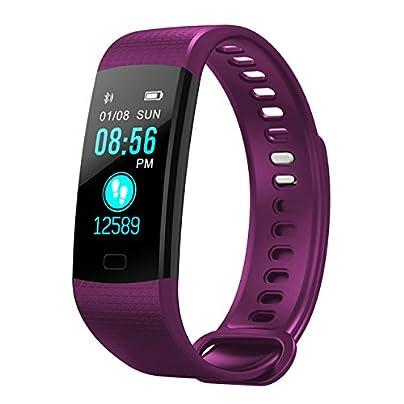 ZUEN Smart Band Heart Rate Blood Pressure Monitor High Brightness Colorful Screen Smart Bracelet Wristband Notification Estimated Price £27.89 -