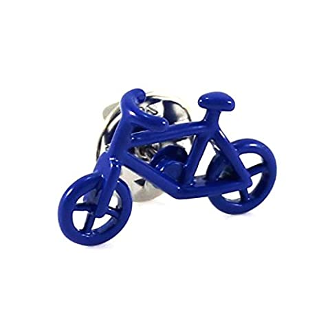 MENDEPOT Novelty Blue Bike Lapel Pin (Lapel Pin) - Bike Brooch Pin