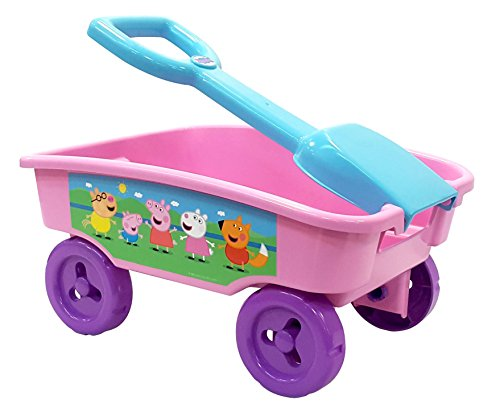 Peppa Pig Shovel Wagon, Pink (Wagon Girl)
