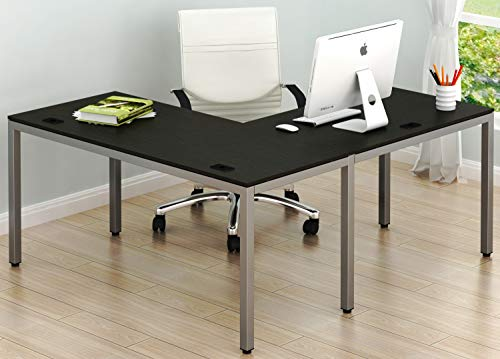 "SHW Home Office 55""x60"" Large L Shaped Corner Desk, for sale  Delivered anywhere in USA"