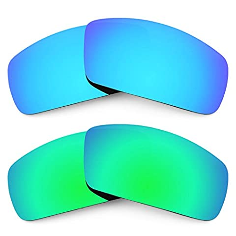 Revant Replacement Lenses for Oakley Canteen (2006) 2 Pair Combo Pack K006 (Canteen Combo)