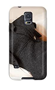 Jeffrey Goodale Design High Quality Irina With Gray Wool Dress Women Sheik People Women Cover Case With Excellent Style For Galaxy S5