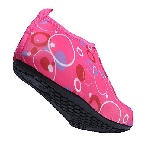 L Swim Mens Pink Skin run Barefoot Water 2 Aqua Athletic Womens Outdoor Shoes wzwZrHq