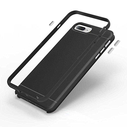 """5.5"""" iPhone 7 Plus Coque, AOFad Case Antidérapant Protection des lourds Mince noir Plastique Hornet Accessoires Série Pour Femme Homme L185"""
