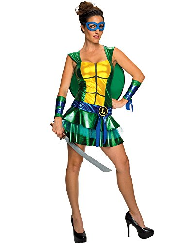 Disguise Sassy Deluxe Leonardo, Multi, Large (12-14) Costume