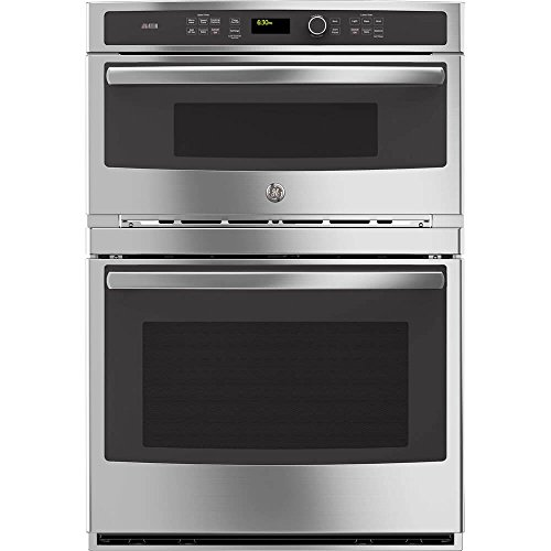 """: GE Profile PT9800SHSS 30"""" Built-in Combination Wall Oven in Stainless Steel"""