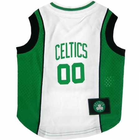 NBA Pet Mesh Tank Top, Large, Boston Celtics by Pets First